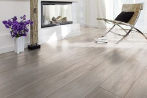 Laminate in a modern interior