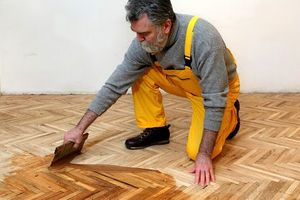 Do-it-yourself parquet restoration