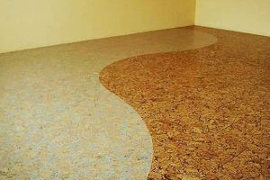 Cork floors are the best flooring for home interiors