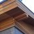 Wooden facade board