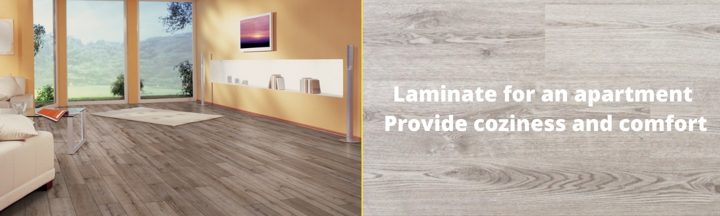 Laminate for an apartment - buy